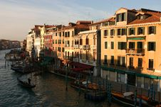 Venice, Canal Grande Royalty Free Stock Image