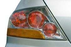 Free Back Headlight Of The Car Royalty Free Stock Photography - 3948697