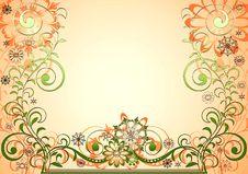 Free Floral Frame Stock Images - 3948714