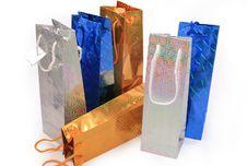 Free Shopping Gift Bags Royalty Free Stock Photos - 3949088