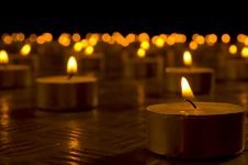 Free Candles Royalty Free Stock Photos - 3949178