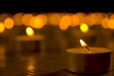 Free Candles Royalty Free Stock Photos - 3949228