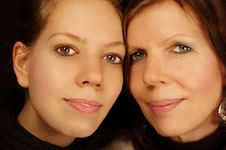 Free Mother And Daughter Stock Image - 3949291