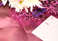 Free Flowers As A Gift Stock Photography - 3949432