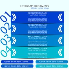 Free Modern Infographic Option Banner Royalty Free Stock Photo - 39444545