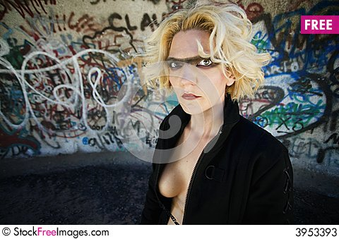 Free Blonde Science Fiction Model Stock Photos - 3953393
