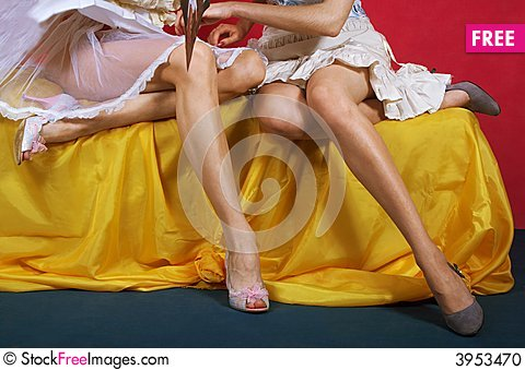 Free Two Girls Stock Photo - 3953470