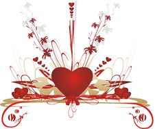 Free Hearts. Valentines Day. Elements Stock Photos - 3950033