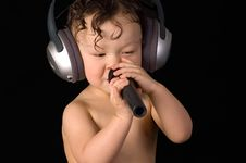 Free Sing Baby. Stock Photography - 3950752