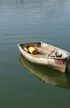 Dinghy Boat Royalty Free Stock Image