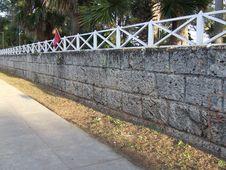Free Wall Of Josone S Park Royalty Free Stock Photography - 3951057