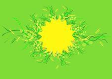 Free Sun And Herb Design Stock Photos - 3951323