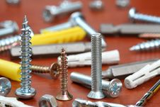 Free Drills, Screws & Plugs Royalty Free Stock Photos - 3952208