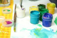 Tools Of The Artist: Paints, Brushes