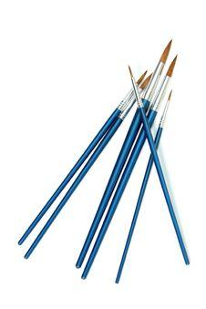 Set Of New Brushes Royalty Free Stock Photography