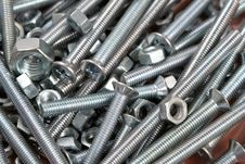 Free Bolts And Nuts Stock Photography - 3952312