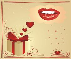 Free Hearts And Smile. Valentines Day Royalty Free Stock Photos - 3952668