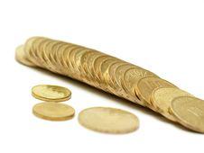 Free Coins Royalty Free Stock Photos - 3953058