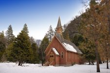 Free Chapel In The Forest Stock Images - 3953704