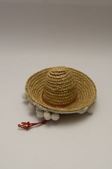 Mexican Sombrero Hat Stock Photography