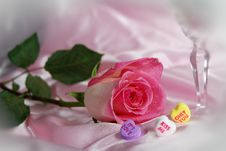 Free Valentine Pink Royalty Free Stock Image - 3954056