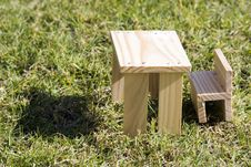 Free Small Model Toy Furniture Royalty Free Stock Photography - 3956447