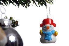 Free Christmas Santa Decorations Stock Photo - 3957000