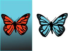 Free Background With Butterfly Royalty Free Stock Photos - 3957068