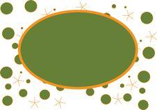 Free Circles & Stars Photo Frame Stock Image - 3957651