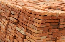 Free Handmade Bricks Stock Image - 3959291