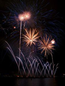 Fireworks Festival, Singapore Royalty Free Stock Photo