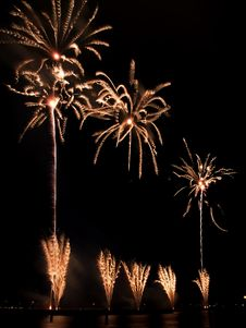 Fireworks Festival, Singapore Royalty Free Stock Photos