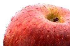 Free Macro Red Apple Stock Photography - 3959692