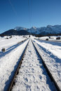 Free Railroad Track Royalty Free Stock Photos - 3963168