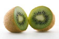 Free Two Kiwi Halves Royalty Free Stock Photography - 3960427