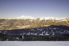 Free Skier Royalty Free Stock Image - 3960606