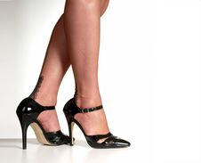 Free Stilettos & Stockings Stock Photo - 3961740