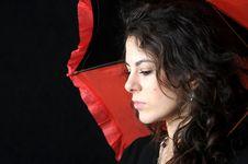 Free Girl And Umbrella Stock Photo - 3962000
