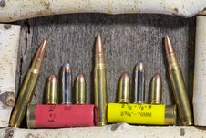 Free Ammo Royalty Free Stock Photography - 3962707
