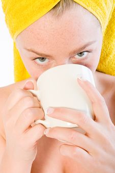 Free Portrait Of Coffee Drinking Stock Photo - 3963320