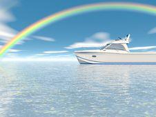 Free Beautiful Rainbow Royalty Free Stock Photography - 3965797