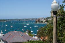 Free Sydney City Seafront Stock Photo - 3965810