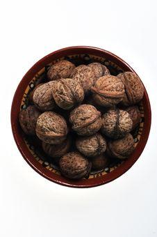Free Pot Of Nuts For Sweet Dessert Good Taste! Stock Photos - 3965843