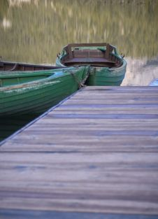 Two Boats Stock Images