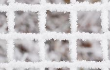 Free Snow Fence Background Royalty Free Stock Photo - 3966295