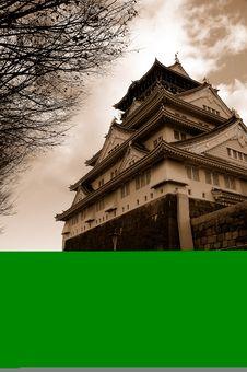 Free Osaka Castle Stock Photography - 3966552