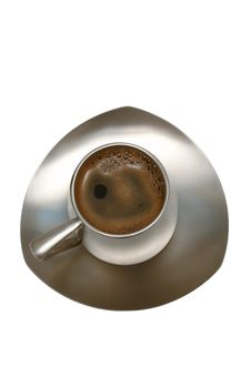 Free Coffee In A Metal Cup Stock Photo - 3966980