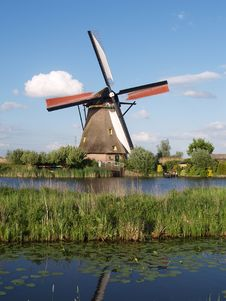 Water Windmill Royalty Free Stock Photos