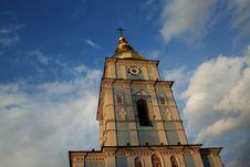 Michailovsky Cathedral In Kiev (Ukraine) Royalty Free Stock Photo