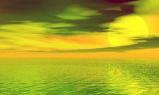 Free Sunset Stock Photography - 3967522